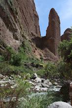 Photo: El Pichirigma II. Aproximadamente de 80 metros Cañón de Pichirigma Huanca / 18 y 19 de Noviembre (2012) Caylloma