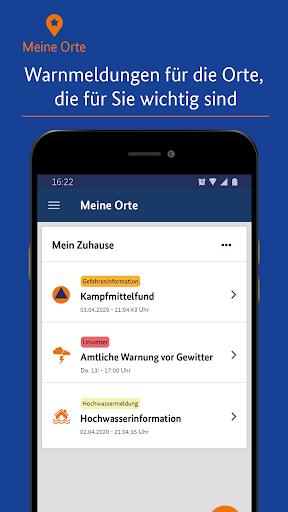 NINA - Die Warn-App des BBK  screenshots 1