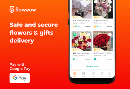 Flowwow flowers. Delivery of flowers and sweets 2.6.4