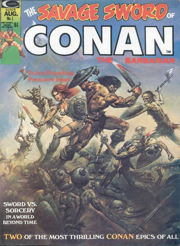 The Savage Sword of Conan the Barbarian (1974) - complete