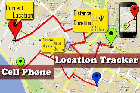 Google Maps Cell Phone Location Tracking LTT - Locate cell number on map