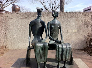 "Photo: Henry Moore, ""King and Queen"" (1952-1953).  Haven't I seen this one before somewhere else?"