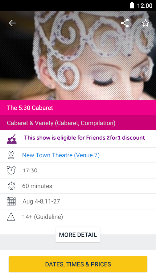 Edinburgh Festival Fringe 2017- screenshot
