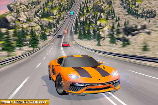 Drive in Car on Highway : Racing games 2.2 Screenshots 1