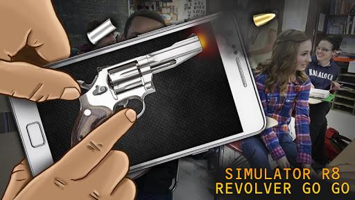 模拟器R8左轮手枪GO GO