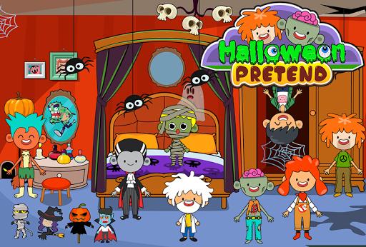 My Pretend Halloween - Trick or Treat Friends FREE 1.1 screenshots 5