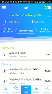 Wifi Password - Speed Test & WiFi hotspot - náhled