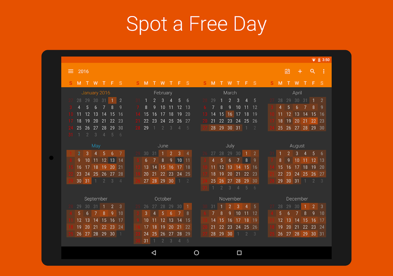 DigiCal+ Calendar- screenshot