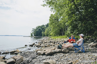 Photo: So relaxing at Knight Island State Park