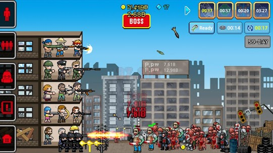 100 DAYS – Zombie Survival Mod Apk (Unlimited Diamonds) 6