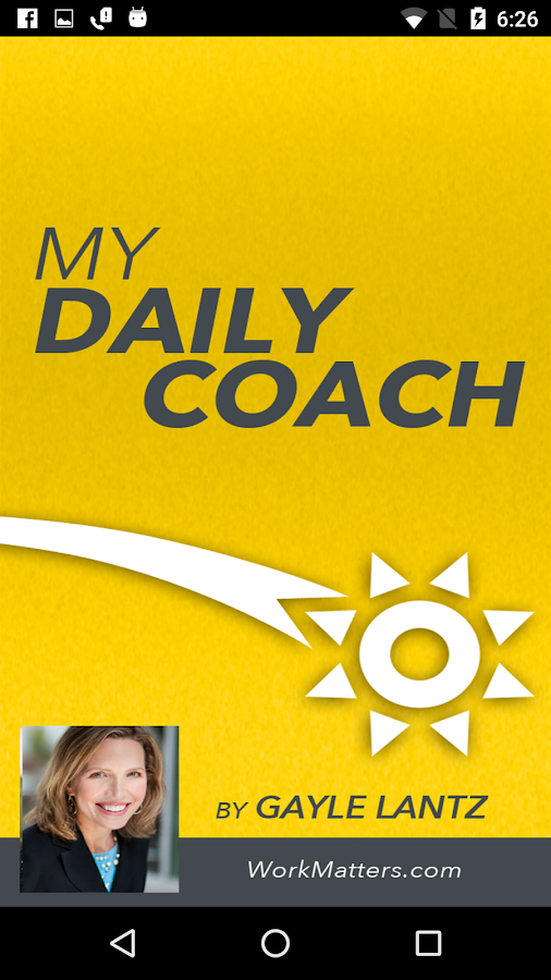 My Daily Coach- screenshot