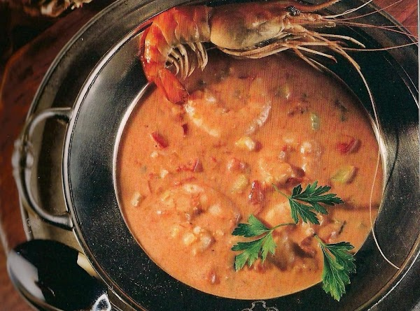 Crema Di Gamberi (shrimp Bisque) Recipe