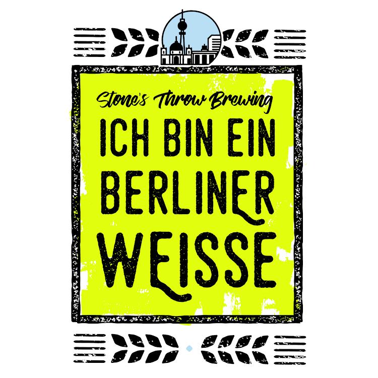 Logo of Stone's Throw Ich Bin Ein Berliner Weisse