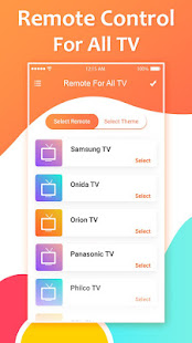 Download Remote for All TV: Universal Remote Control For PC Windows and Mac apk screenshot 2