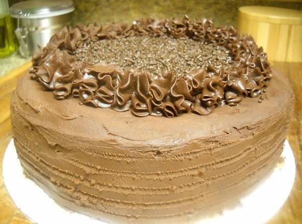 Devil's Fudge Cake Recipe