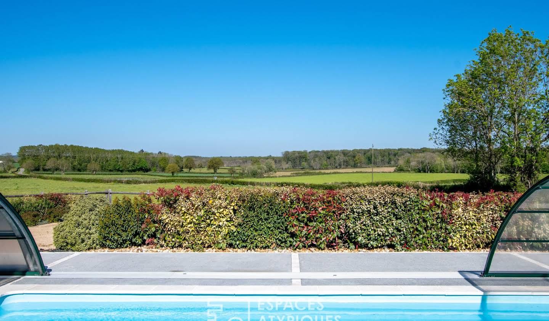Maison avec piscine Mervent