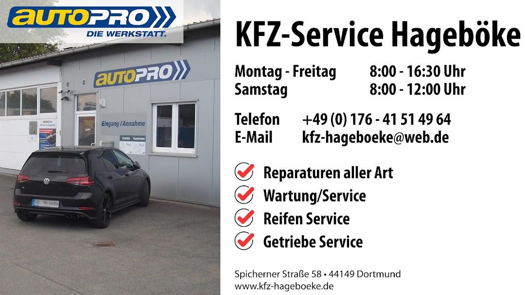 Kfz Service Hageboke Autowerkstatt In Dortmund