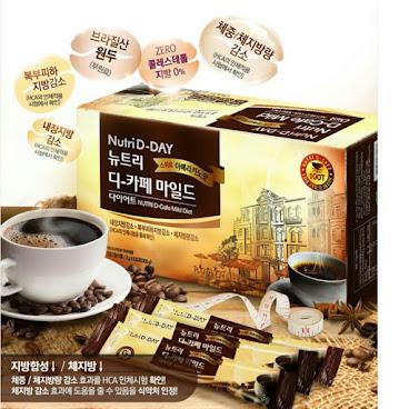 韓國高級品牌NUTRI D-DAY 瘦身減肥低卡咖啡 100小包