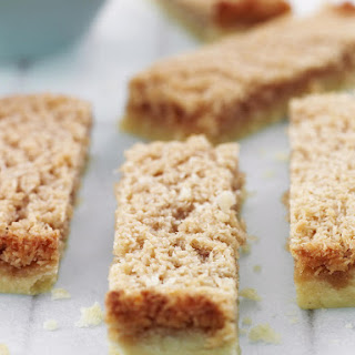Maple Syrup and Coconut Shortbread.