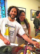 Photo: Jon & Karen prepping 2