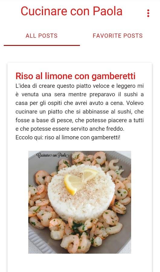 cucinare con paola - android apps on google play - Cucinare Leggero