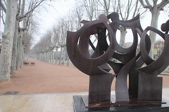 Photo: ... et des sculptures !