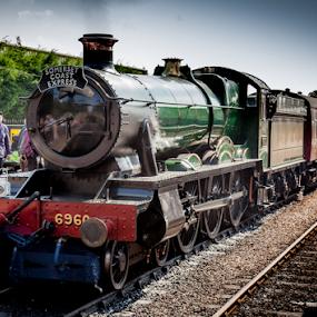 Steam Hauled by John Walton - Transportation Trains ( #heritagefocus, #wsr, #green, #steam engine )