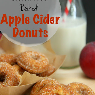 Gluten Free Baked Apple Cider Donuts.