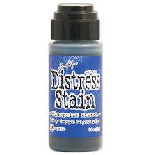 Tim Holtz Distress Stain 29 ml Bottle - Blueprint Sketch