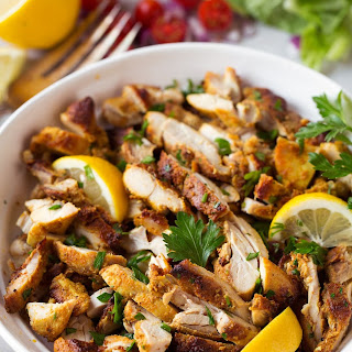 Oven Roasted Chicken Shawarma.