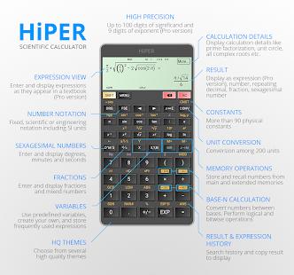 App HiPER Scientific Calculator APK for Windows Phone