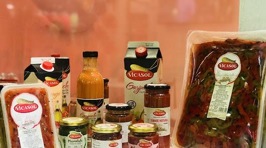 Vicasol arranca la campaña de gazpacho y salmorejo 100% naturales