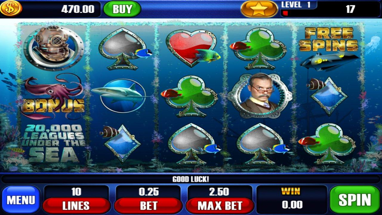 20000 Leagues Slots- screenshot