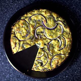 Cauliflower and Parmesan Cake