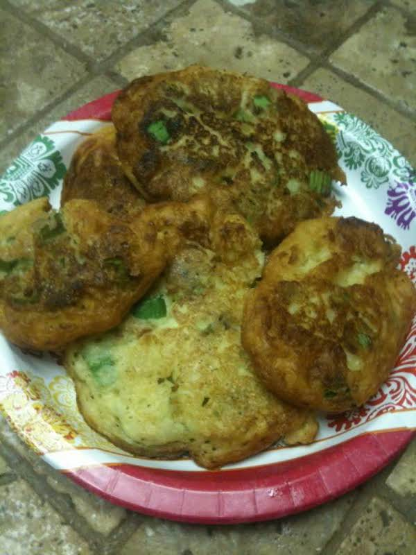 Zelda's Okra Fry Fritters Plattered-up