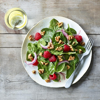 Walnut Salad With Raspberry Vinaigrette Recipes.