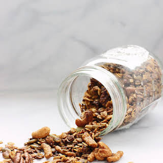 Sweet and Savory Five Spice Granola.