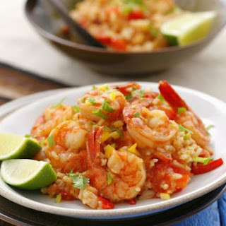 Shrimp and Pepper Rice