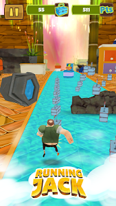 Running Jack: Super Dash Game screenshot 1