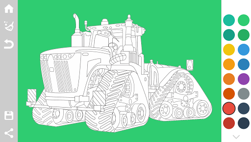 Tractors Coloring Pages Game 1.6 screenshots 3