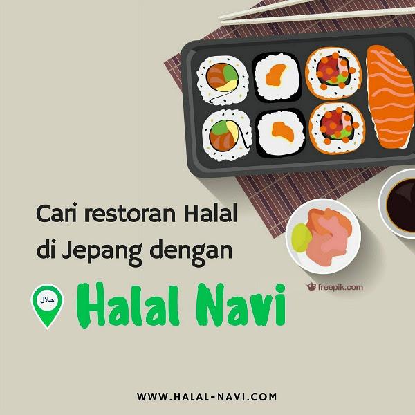 Aplikasi Halal Food di Jepang