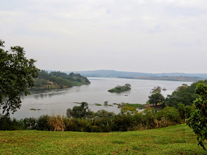 Photo: Lake Victoria and source of the Nile River