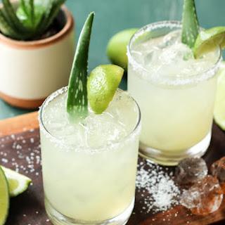 Aloe Vera Margaritas.