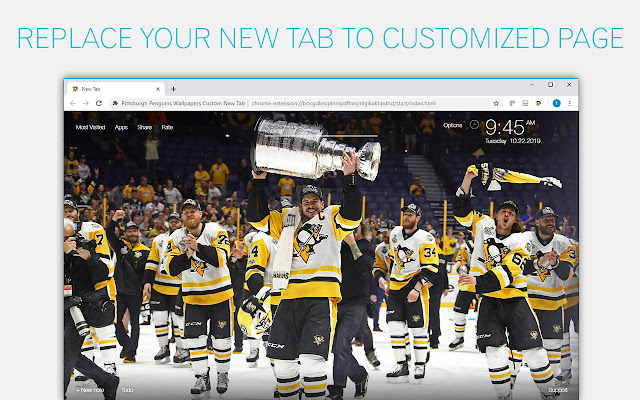 Pittsburgh Penguins Wallpapers Custom New Tab