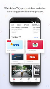 Vidio – Nonton Video & TV Indonesia SCTV, Indosiar 4