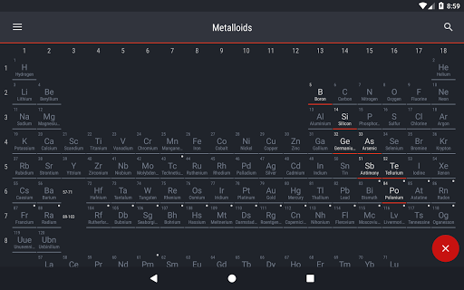 Periodic table 2018 apk download apkpure periodic table 2018 screenshot 14 urtaz Images