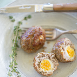 Grain Free Quail Scotch Eggs