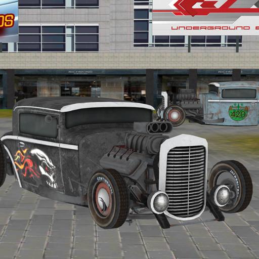 模擬App|Real Time Hot Rod Racers Sim LOGO-3C達人阿輝的APP