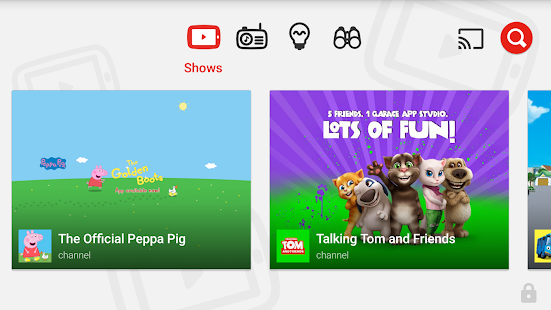 YouTube Kids Screenshot 1