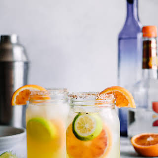 Spicy Citrus Margaritas.